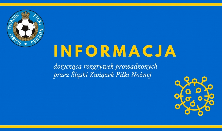 Informacja dotycząca rozrywek prowadzonych przez Śląski Związek Piłki Nożnej